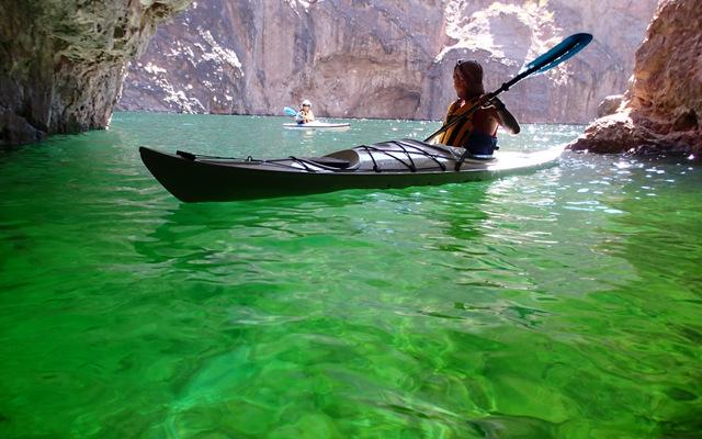 Kayak The Emerald Cove Of Black Canyon
